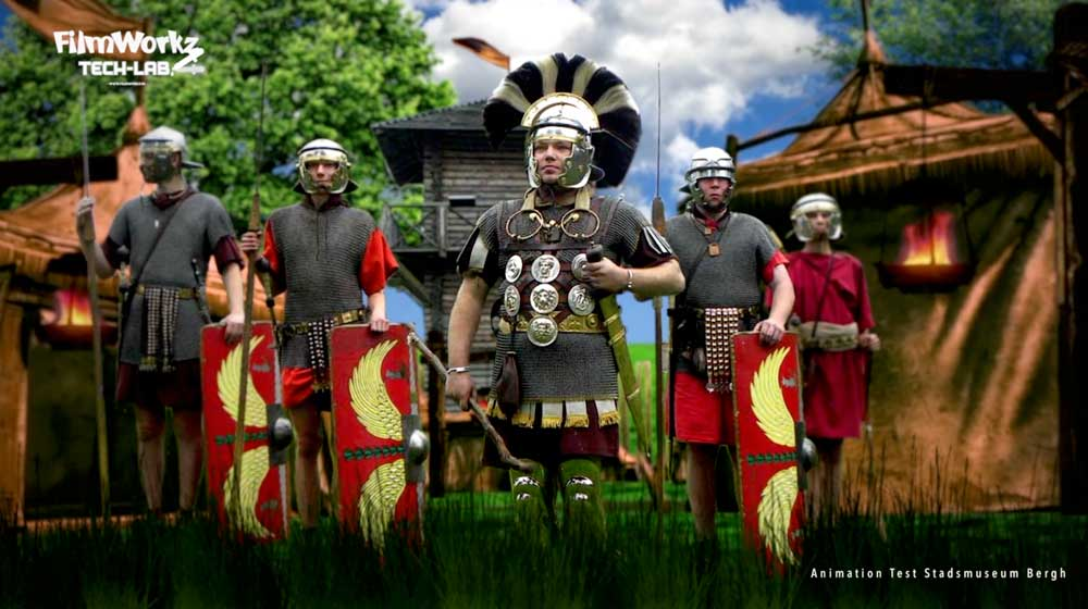 Romeinen Animatietest